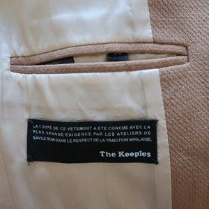 The Kooples Jackets & Coats - THE KOOPLES TAN WOOL BLEND BLAZER  34 US/XS *